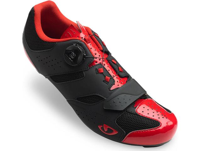 Giro Savix Shoes Men bright red/black